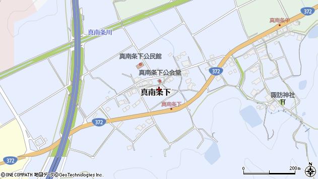 〒669-2464 兵庫県丹波篠山市真南条下の地図