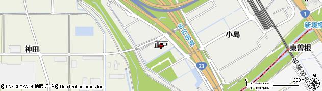 愛知県豊明市阿野町(正戸)周辺の地図