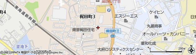 三平うどん周辺の地図
