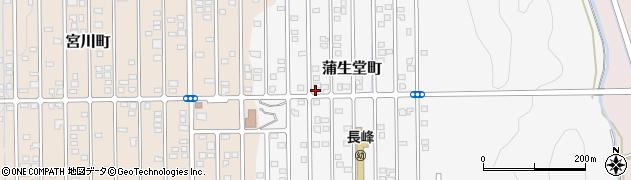 EQ総研蒲生校周辺の地図
