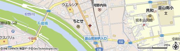 茶くら周辺の地図