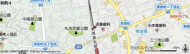 華美遊周辺の地図