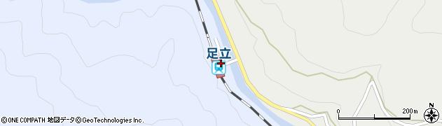 岡山県新見市周辺の地図