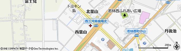 合満福周辺の地図