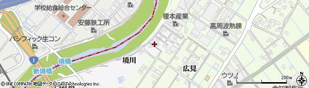 愛知県刈谷市今川町(境川)周辺の地図