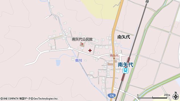 〒669-2102 兵庫県丹波篠山市南矢代の地図