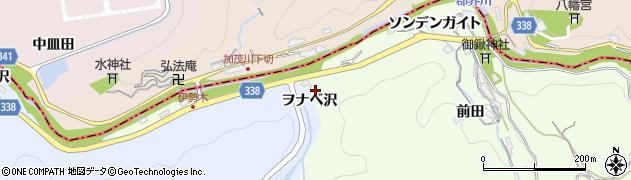 愛知県岡崎市川向町(仏平)周辺の地図