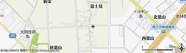 愛知県豊田市高岡町(富士見)周辺の地図