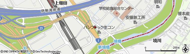 愛知県豊明市阿野町(大島)周辺の地図