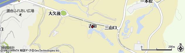 愛知県豊田市琴平町(吉田)周辺の地図