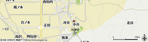 京都府亀岡市千歳町国分(小谷)周辺の地図