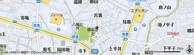 愛知県東海市荒尾町(泉)周辺の地図