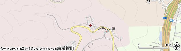 滋賀県大津市南滋賀町周辺の地図