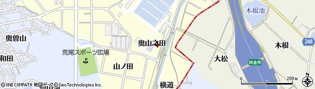 愛知県東海市名和町(奥山之田)周辺の地図