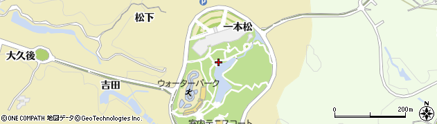 愛知県豊田市琴平町(鴻巣)周辺の地図