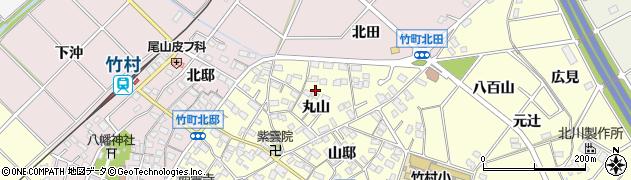 愛知県豊田市住吉町(丸山)周辺の地図