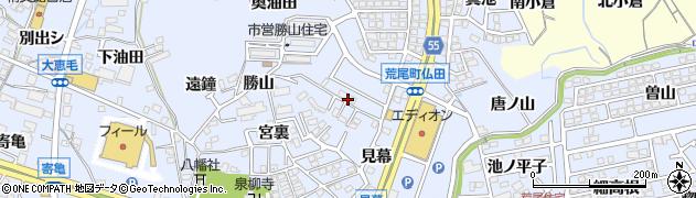 愛知県東海市荒尾町(狐狭間)周辺の地図