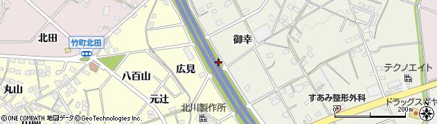 愛知県豊田市住吉町(鹿ケ音)周辺の地図