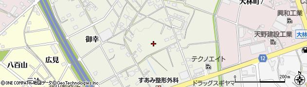 愛知県豊田市宝町周辺の地図