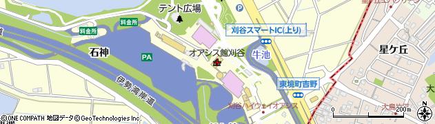 チキンファーム・デリ 刈谷ハイウェイ・オアシス店周辺の地図