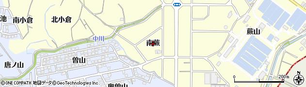 愛知県東海市名和町(南蕨)周辺の地図