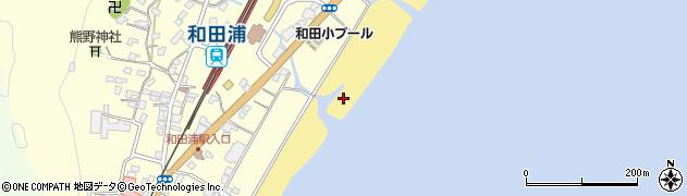 千葉県南房総市和田町仁我浦周辺の地図