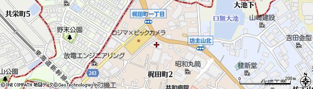 株式会社玉清 タマセイキッズランチ周辺の地図