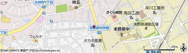 釜文周辺の地図