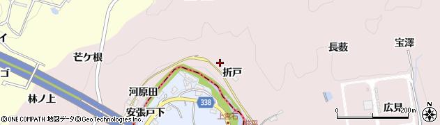 愛知県豊田市桂野町(折戸)周辺の地図
