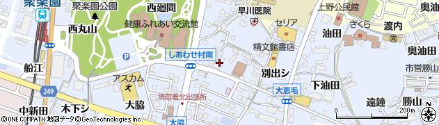 白木屋支店周辺の地図