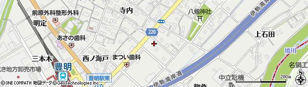 愛知県豊明市阿野町(奥屋)周辺の地図