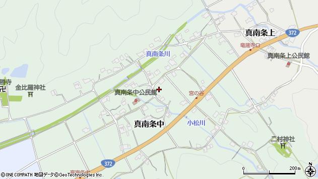 〒669-2463 兵庫県丹波篠山市真南条中の地図