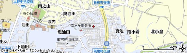 愛知県東海市荒尾町(北遠鐘)周辺の地図