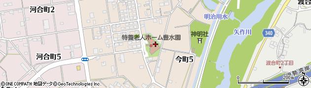 愛知県豊田市今町周辺の地図