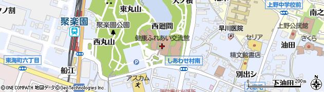 愛知県東海市荒尾町(西廻間)周辺の地図