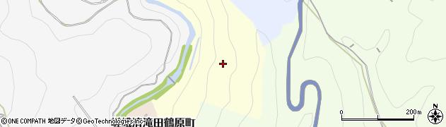 京都府京都市右京区嵯峨清滝一華表町周辺の地図