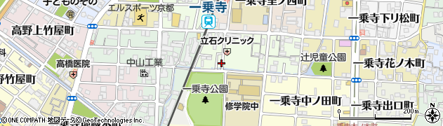 京都府京都市左京区一乗寺里ノ前町周辺の地図