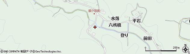 愛知県豊田市花沢町(登り)周辺の地図