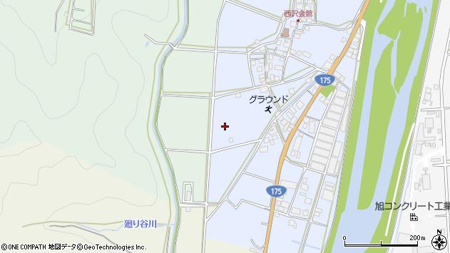 〒679-0323 兵庫県西脇市黒田庄町西澤の地図