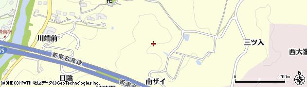 愛知県豊田市中垣内町(南ザイ)周辺の地図