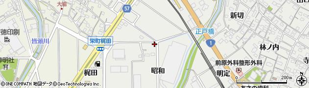 愛知県豊明市阿野町(昭和)周辺の地図