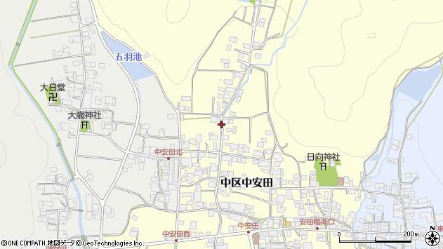 〒679-1122 兵庫県多可郡多可町中区中安田の地図