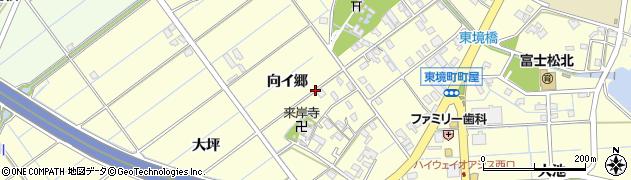愛知県刈谷市東境町(向イ郷)周辺の地図