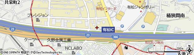 アンジェリーナ周辺の地図