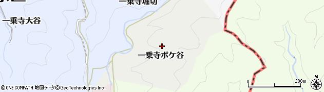 京都府京都市左京区一乗寺ボケ谷周辺の地図