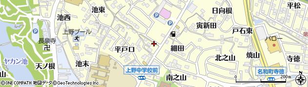 喜代志周辺の地図
