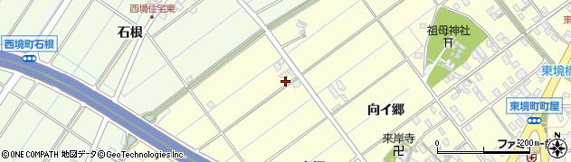 愛知県刈谷市東境町(大坪)周辺の地図