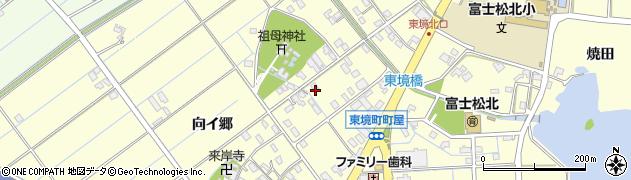 愛知県刈谷市東境町(町屋)周辺の地図