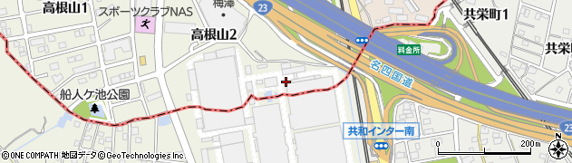 愛知県名古屋市緑区大高町(西茶屋)周辺の地図
