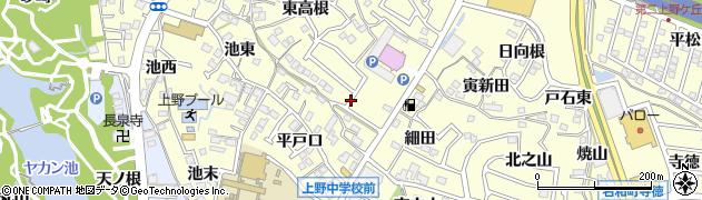 愛知県東海市名和町(東岨)周辺の地図